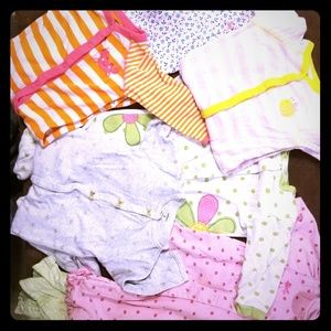 Carters sleepers lot 9 months